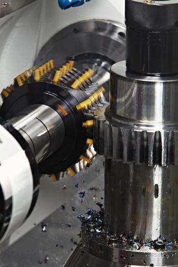 CoroMill 176, la fraise-mère à plaquettes indexables pour le taillage d'engrenages cylindriques et hélicoïdaux de Sandvik Coromant permet de réduire les temps de coupe de 50 %